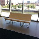 white leather modern lounge furniture rental