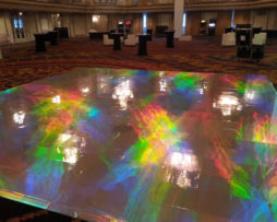holographic covered dance floor rental Chicago