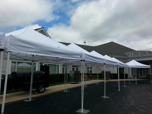 pop-up canopy tents rental