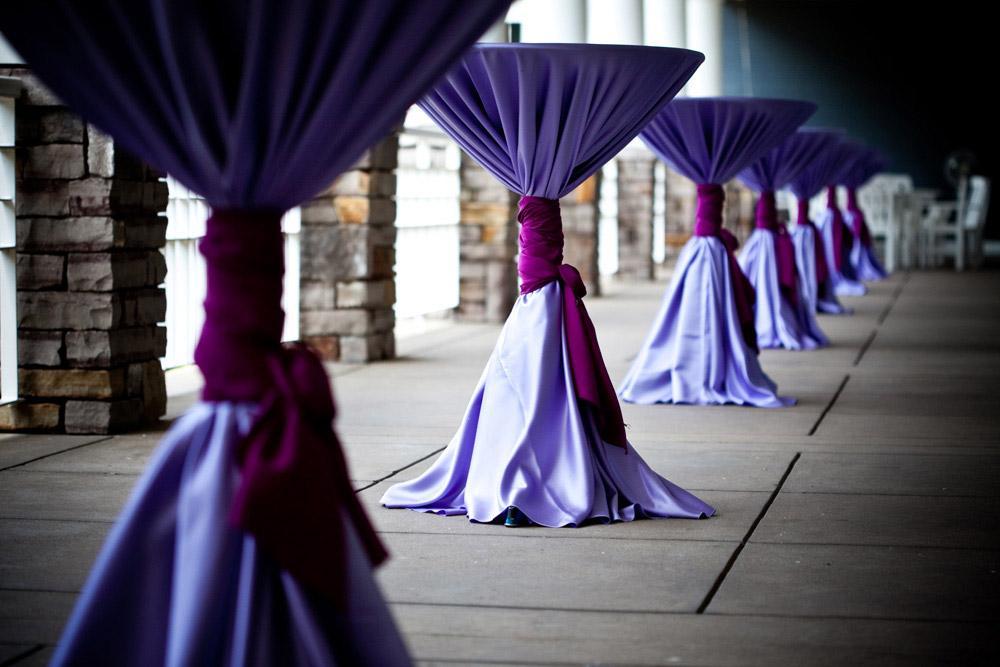 Ordinaire ... Martini Tablecloth Bar Height Pub Pedestal High Boy Table Rental ...