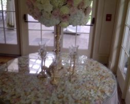 table glass rental