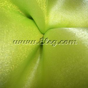 apple green organza