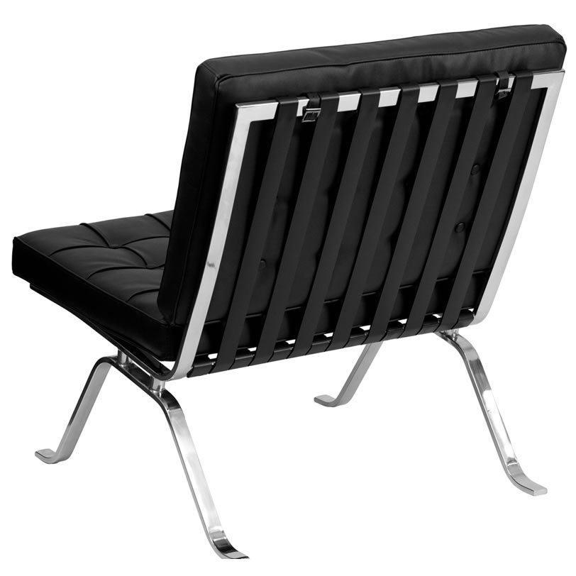 Barcelona Series Black Chair Leather Egpres