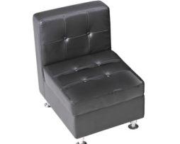 black leather club chair lounge furniture