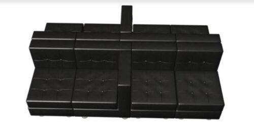 black leather club chair lounge furniture setting