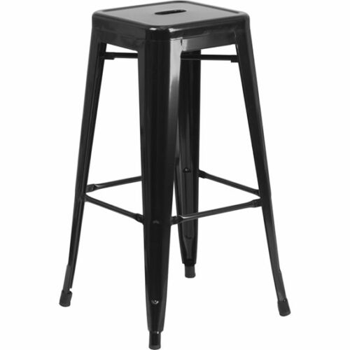 black-metal-bar-stool-chair-square-12x12x30
