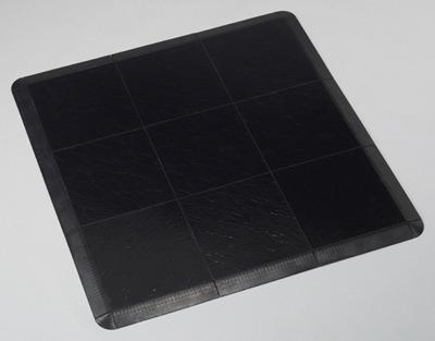 black vinyl dance floor chicago