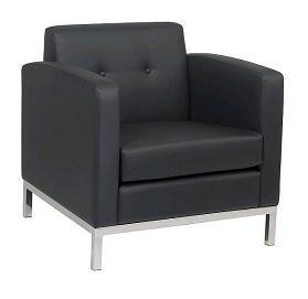 chicago rent black lounge furniture armed armrest chair