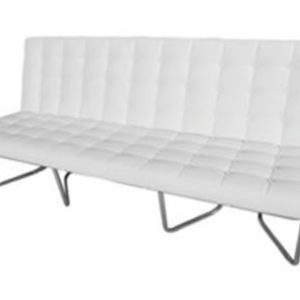 eco barcelona white leather modern couch sofa