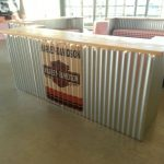 galvalume aluminum service bar