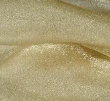 gold organza