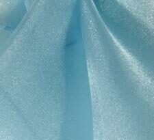 light blue organza