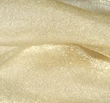 light gold organza