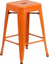 orange-24-backless-orange-metal-counter-height-stool