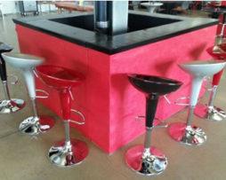 modular service bar rental