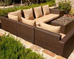 Mocha Brown Outdoor Rattan Wicker Furniture Al Chicago