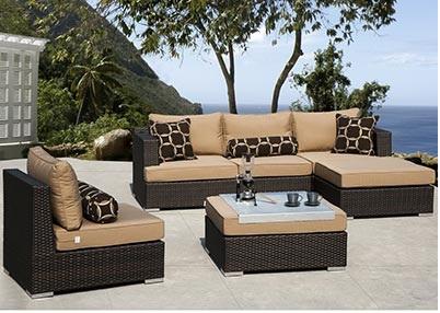 Espresso Outdoor Furniture Sets - Egpres