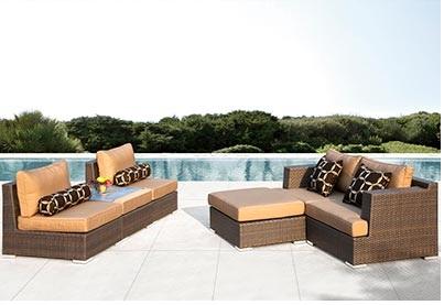 ... outdoor espresso brown wicker furniture rentals ... - Espresso Outdoor Furniture Sets Egpres