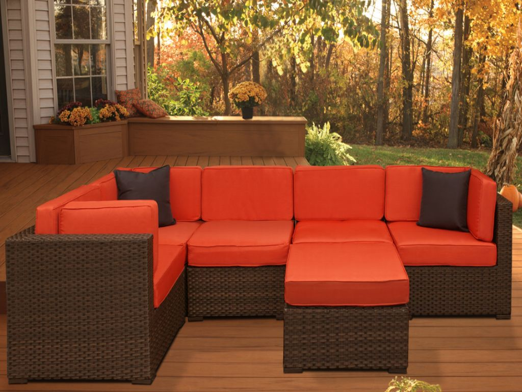 Mocha Brown Outdoor Furniture Sets