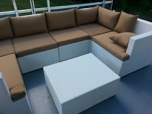 ... rent-white-outdoor-wicker-rattan-furniture-lounge-party- - White Outdoor Furniture Sets |