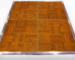wood parquet dance floor rental chicago
