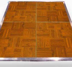 wood parquet dance floor rental chicago