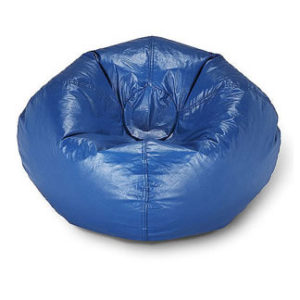 rent blue bean bag chair Chicago suburbs