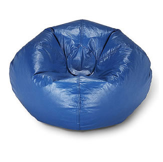 Fine Bean Bag Chair Blue Short Links Chair Design For Home Short Linksinfo