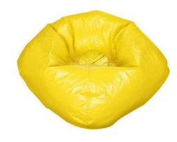 rent yellow bean bag chair Chicago suburbs