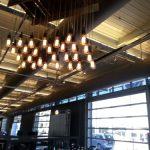marconi bulb chandelier rental chicago