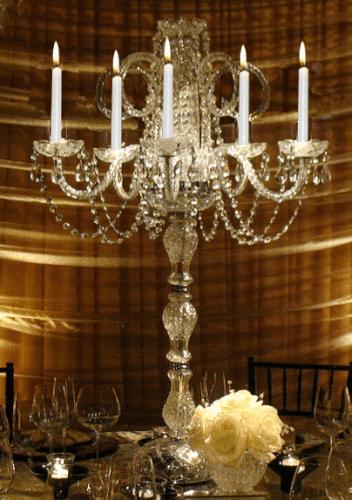 crystal candelabra rental chicago