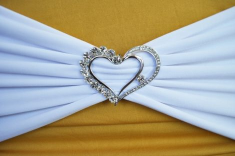 rhinestone-chair-sash-chair-band-buckles-two-hearts