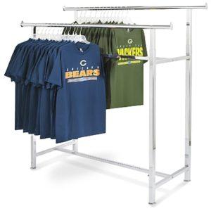 chrome portable coat rack rental chicago