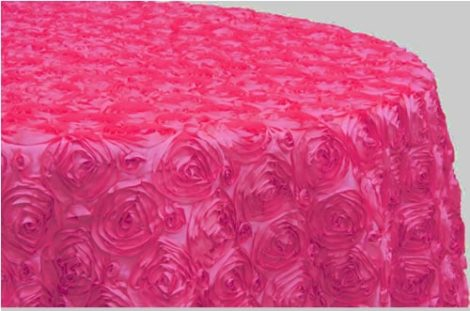 Hot Pink Satin Rose