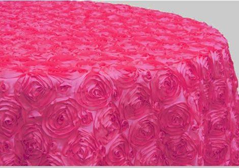 Hot Pink Satin Rose