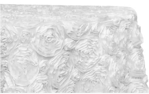 White Rosette