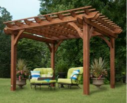 rent cedar wedding pergola chicago