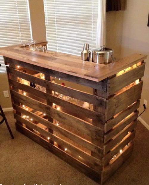 Country Pallet Bar