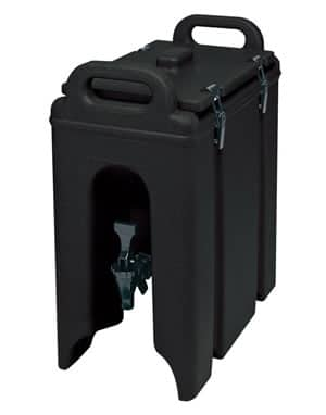 rent-beverage-dispenser-black-5-gallon-cambro-insulated-rental-chicago