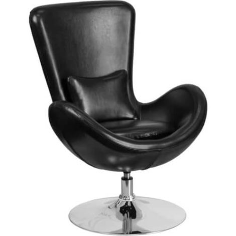 rent-rental-chicago-black-leather-egg-series-reception-lounge-side-chair