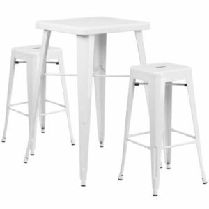 rent-rental-chicago-white-metal-indoor-outdoor-bar-table-set-with-2-backless-chino-barstools
