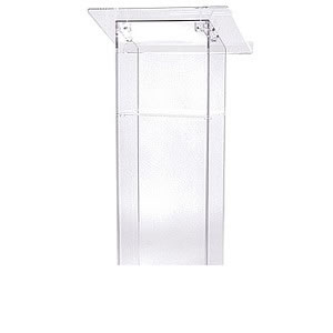 clear-acrylic-podium-lecturn-rent-chicago